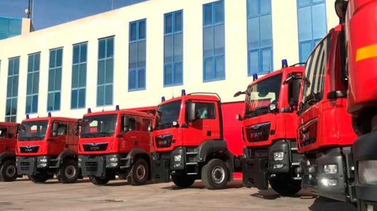 Bomberos incorporan vehículos para mejorar la respuesta a emergencias