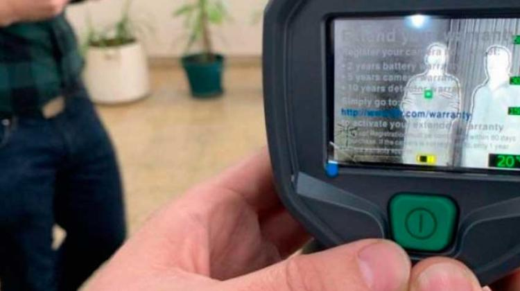 Entregan cámara térmica a Bomberos Voluntarios de Campana