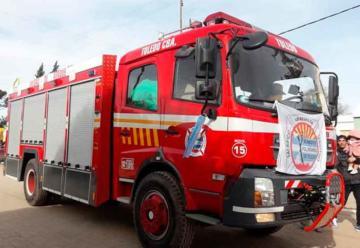 Nuevo autobomba para Bomberos Voluntarios de Toledo