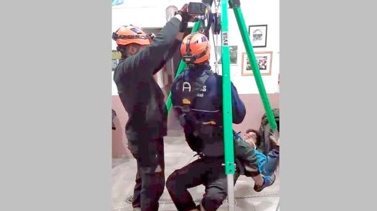 Bomberos de Salto de las Rosas incorporaron equipamiento desde Europa