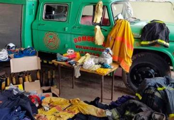 Solidaridad entre Cuarteles de Bomberos Voluntarios de Argentina