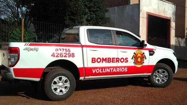 Bomberos adquirieron una camioneta con fondos de tasas municipales