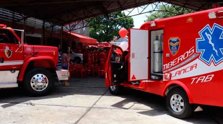 Nueva dotación recibió Bomberos en Barrancabermeja