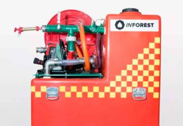Bomberos de Berrotarán adquirió una nueva unidad y Kit Forestal
