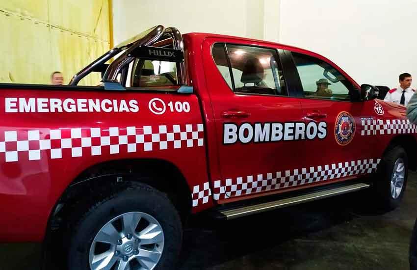 Nueva unidad para Bomberos Voluntarios Villa La Angostura