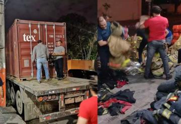 Bomberos de Encarnación recibió una donación de EEUU