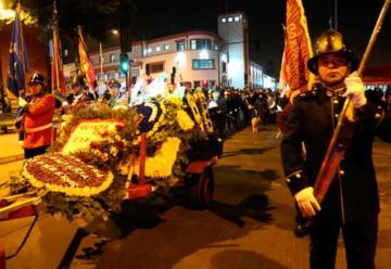 Dan el último adiós al bombero más longevo de Chile