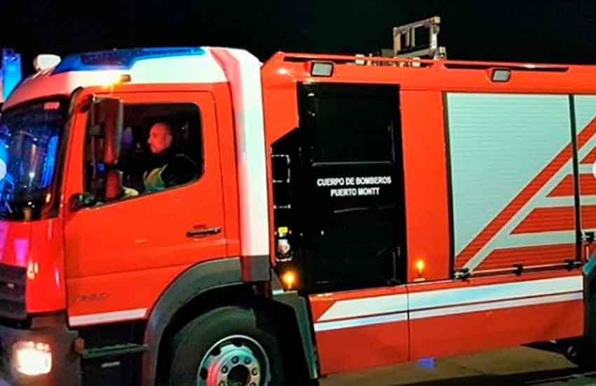 Nuevo carro para la Octava Compañía del Cuerpo de Bomberos de Puerto Montt