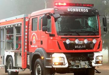 Nueva Unidad autobomba para Bomberos de Santa Isabel