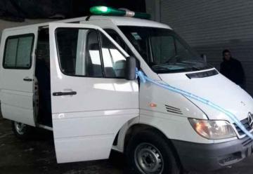 Bomberos Voluntarios de Huincul recibieron nueva ambulancia