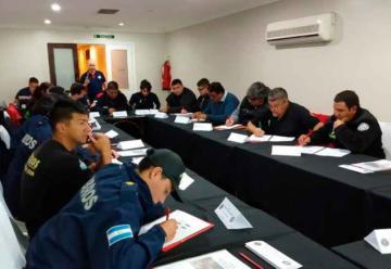 Capacitación para los Bomberos Voluntarios de San Juan