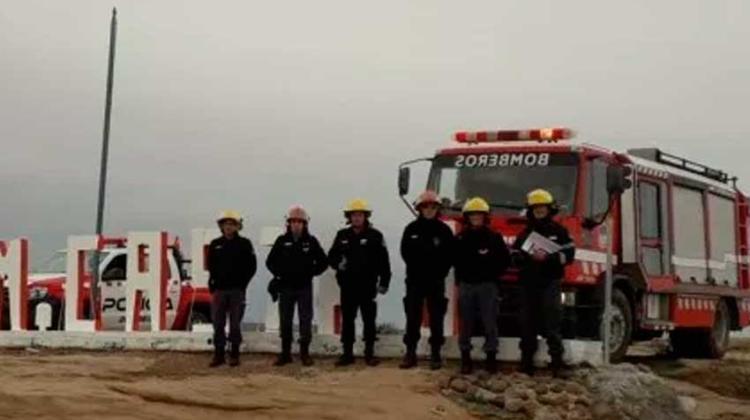 Bomberos de la Policía del Neuquén lanzan campaña de prevención