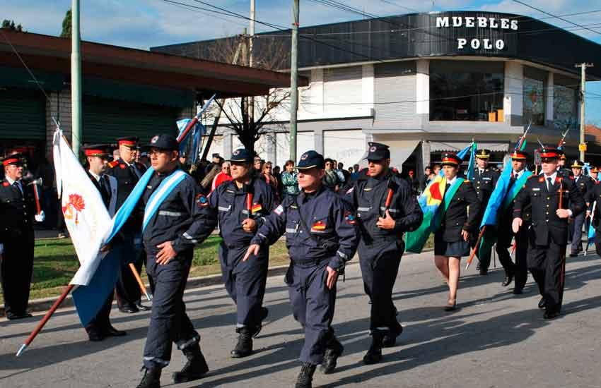 Juan María Gutiérrez fue sede del desfile de la Federación Bonaerense