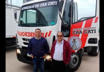 Bomberos celebraron su día con nuevo vehículo y equipamientos