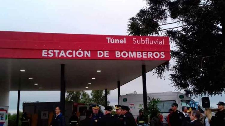 El Túnel Subfluvial ya tiene Estación de Bomberos propia