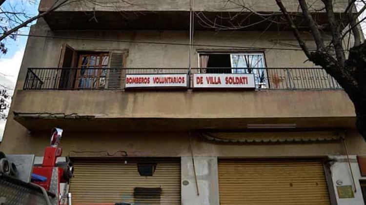 La lucha de los bomberos voluntarios de Villa Soldati