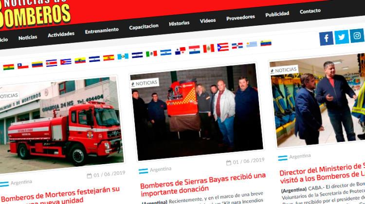 """Sumate a Noticias de Bomberos: """"Se parte de las noticias"""""""