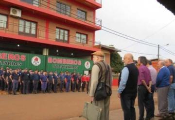 La Federación Misionera de Bomberos recibió donación de la provincia