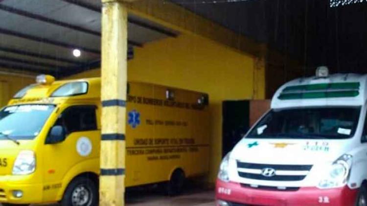 Bomberos Amarillos recibieron donación de una ambulancia
