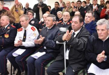 Entregaron pensiones graciables a bomberos voluntarios