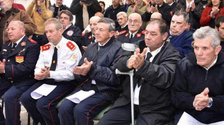 Entregaron pensiones graciables a bomberos voluntarios pampeanos