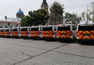Bomberos Voluntarios con nueva flota de ambulancias