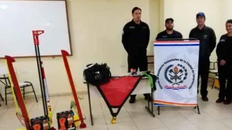 Nuevos equipos para Bomberos Voluntarios «Azules»