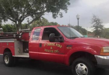 Bomberos Voluntarios adquirieron un autobomba forestal