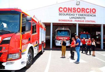 Un nuevo camión de bomberos se sumará a la dotación del Parque Sur