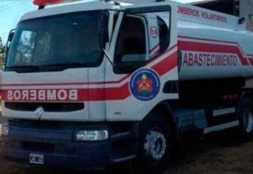 Les robaron las baterías del camión de los bomberos de Las Varillas