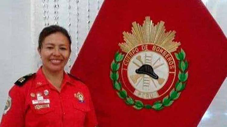 Dos mujeres bombero ocupan cargos de Comandantes Departamentales