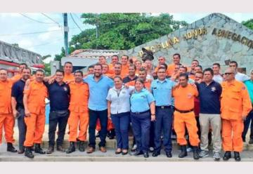 Anuncian la creación de un centro de capacitación para bomberos