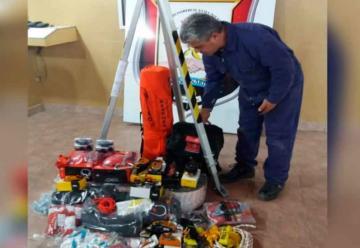 Bomberos Voluntarios de Centenario incorporó nuevo equipamiento
