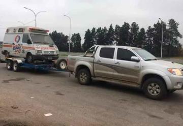 Bomberos de Pueblo Andino consiguieron su primer vehículo