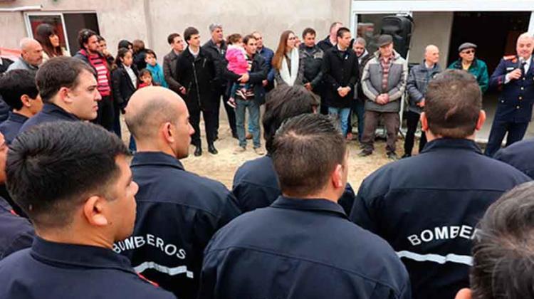 Bomberos de Las Toninas puso en marcha sus nuevas instalaciones