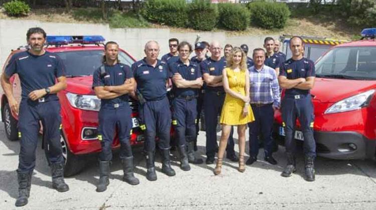 Bomberos de Burgos estrena dos nuevos vehículos ligeros