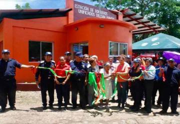 Bomberos inauguran nueva estación en San Ramón