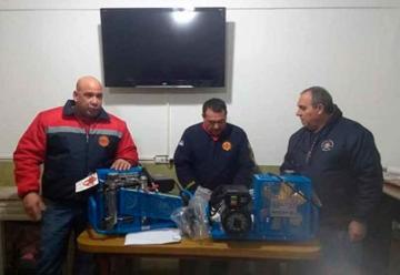 Bomberos Voluntarios de Berisso sumaron nuevo equipamiento