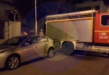 Obstruyó con su auto el lugar de carga de agua de los Bomberos