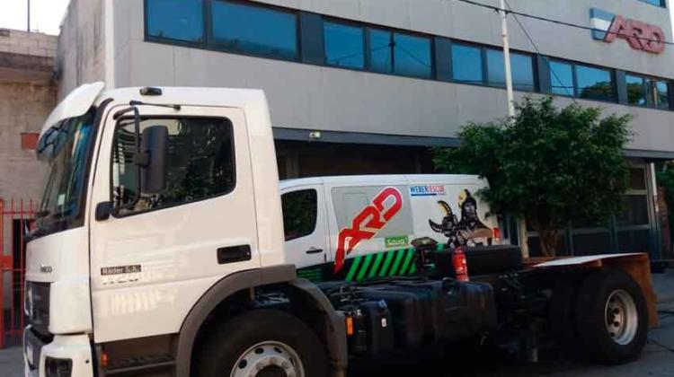 Avanza la nueva unidad de rescate de Bomberos Madryn