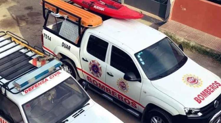 Bomberos de Villa Allende recibió una nueva camioneta