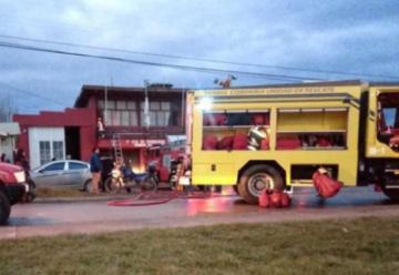 Se incendió Cuartel mientras sepultaban a bombero en Puerto Natales