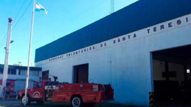 Comienza la capacitación para mujeres en Bomberos de Santa Teresita