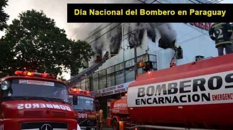Día Nacional del Bombero en Paraguay