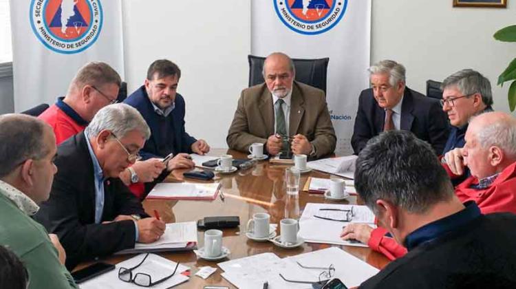 Nueva reunión de la Mesa de Trabajo de Bomberos Voluntarios