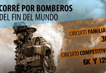 Municipio acompaña la maratón organizada por Bomberos
