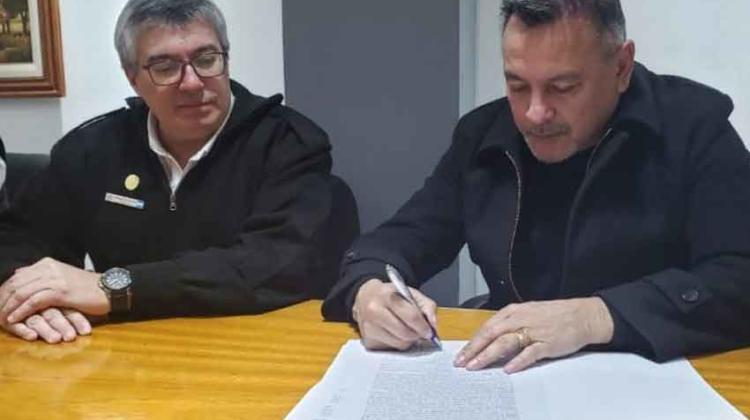 Convenio entre el Circulo Policial y la Federación de Bomberos de Córdoba