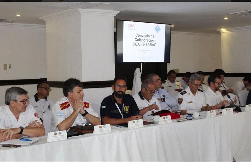 Asamblea Anual de la Organización de Bomberos Americanos en Panamá