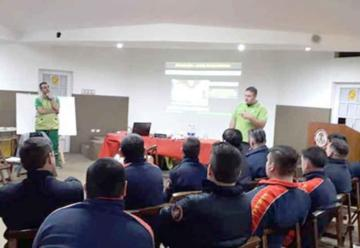 Capacitación en RCP para Bomberos Voluntarios de Bernal