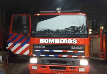 Nueva autobomba para Bomberos de Huinca Renanco